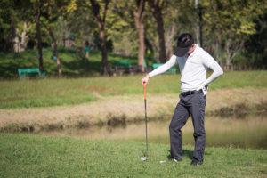 golfing frustration